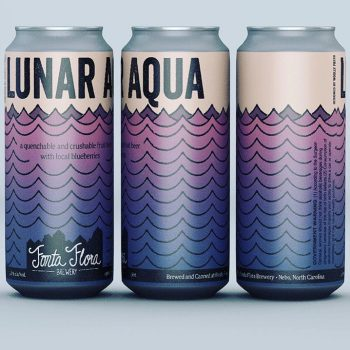 Lunar Aqua - Quenchable and crushable fruit beer with local blueberries