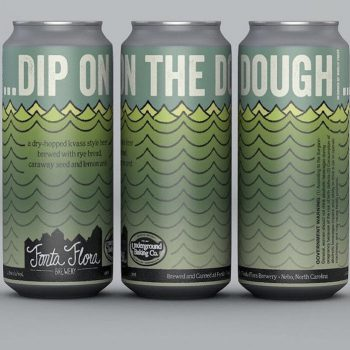 Dip on the Dough - Clean and crisp Kvass brewed with Rye bread and conditioned on lemon zest