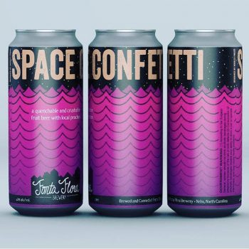 Space Confetti - Quenchable and crushable fruit beer with local peaches
