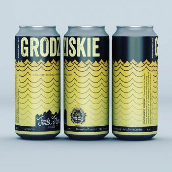 Grodziskie - Polish-style hickory smoked wheat beer