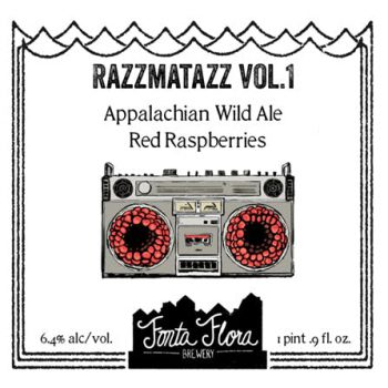 Razzmatazz Vol. 1 - Appalachian Wild Ale with local red raspberries
