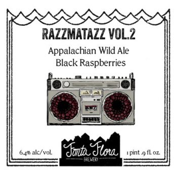 Razzmatazz Vol. 2 - Appalachian Wild Ale with local black raspberries